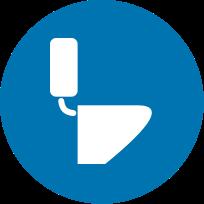 icon round sanitaryware
