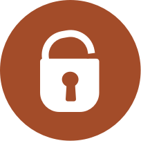 icon round secure