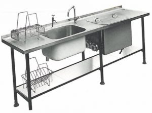 Catering sink 1970s