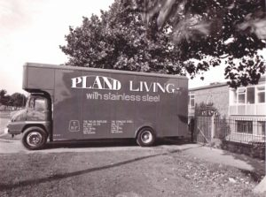 Pland Circa 1940s - Pland Living with Stainless Steel lorry