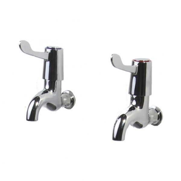 Swift Wall Mounted 3″ Lever Bib Taps TP1127 Janitorial