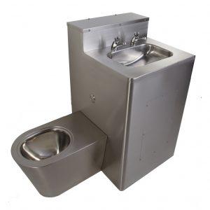Washington Combination WC and Washbasin Left Hand WC -0