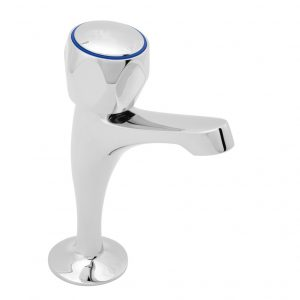 Aire High Neck Chrome Head Taps TP1019 Catering