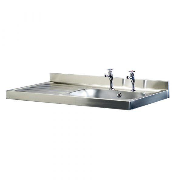 Burgundy 600mm projection sink-0