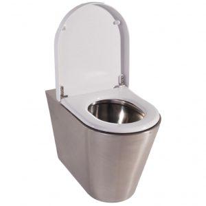 Denver 2 Wall Mounted Shrouded WC pan URV1520RP - Sanitaryware