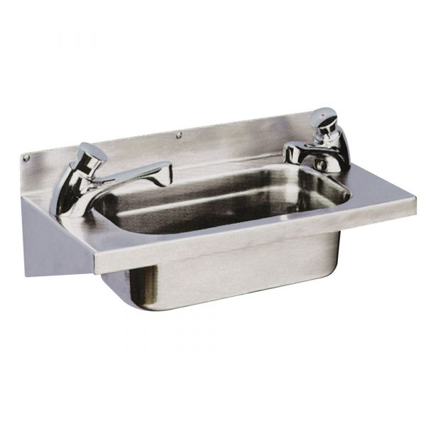 Cadiz Linz washbasin with brackets complete with waste and bottle trap-0