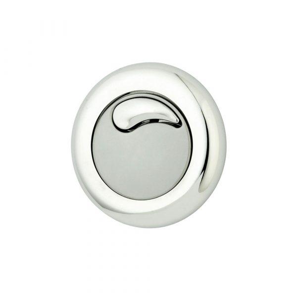 Cadiz Dual flush pneumatic push button chrome plated plastic matt finish (IPS panel)-0