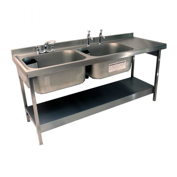 Rhone catering 650mm projection sink and stand-0