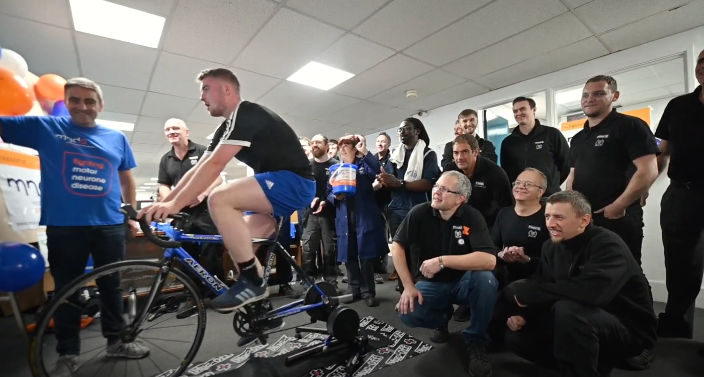 Charity Cycle Race Video