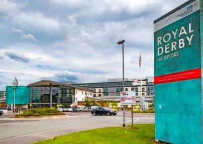 The Royal Derby Hospital