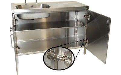 New Stainless Steel Cabinets!