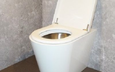 Stainless Steel WC Now Available in White