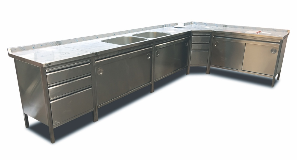 Stainless Steel lockable cabinets