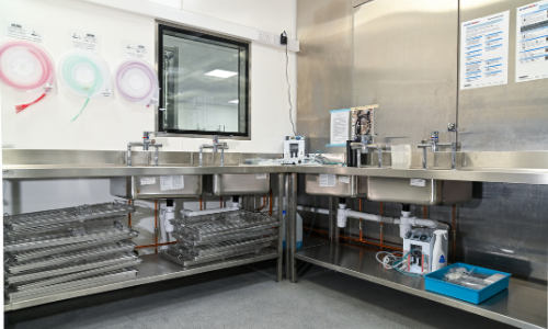 nuffield sterile services equipment